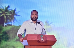 Minister of Tourism Ali Waheed. PHOTO: PRESIDENT'S OFFICE