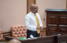 Minister of Foreign Affairs Abdulla Shahid. PHOTO: PARLIAMENT