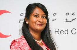 Aishath Noora Mohamed, the Secretary General of the Maldivian Red Crescent. PHOTO/MRC