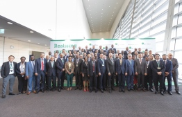 High-Level Participants at the Green Climate Fund (GCF)'s Global Programming Conference in South Korea. PHOTO: GREEN CLIMATE FUND