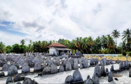 Koagannu Cemetry in Meedhoo, Addu Atoll. PHOTO: HERITAGE MINISTRY