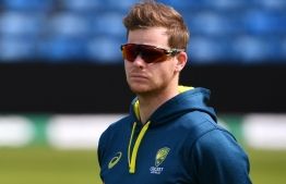 Australia's Steve Smith attends a practice session at Headingley Stadium in Leeds, northern England, on August 21, 2019 on the eve of the start of the third Ashes cricket Test match between England and Australia. (Photo by Paul ELLIS / AFP) /