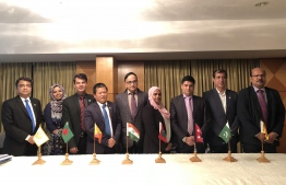 SAARC Development Fund's Board Directors. PHOTO: SDF