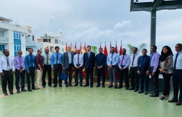 President of Asian Development Bank (ADB) Takehito Nakao visiting State Electric Company (STELCO). PHOTO: MIHAARU