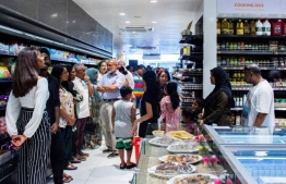City Investments opened its supermarket 'Souk' in capital city Male'. PHOTO: CITY INVESTMENTS.