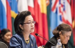 Armida Salsiah Alisjahbana, the Under-Secretary-General of the United Nations and Executive Secretary of the United Nations Economic and Social Commission for Asia and the Pacific. PHOTO/UNESCAP
