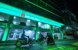 The new headquarters of Bank of Maldives (BML)'s Islamic. PHOTO: HUSSAIN WAHEED/ MIHAARU