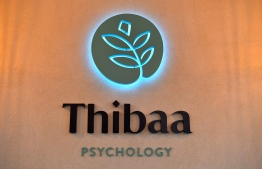 The mental health facility Thibaa Psychology officially opened its doors on Sunday evening. PHOTO: PRESIDENT'S OFFICE
