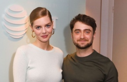 Samara Weaving (L) and Daniel Radcliffe star together in 'Guns Akimbo'. PHOTO: Michael Hurcomb/Variety/Shutterstock