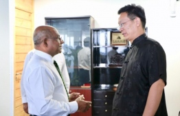 Minister of Foreign Affairs Abdulla Shahid noted that his upcoming visit to China will mark an important milestone in bilateral relations. PHOTO: MINISTRY OF FOREIGN AFFAIRS