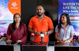 Telecommunications giant Dhiraagu unveils new special promotion for new and pre-existing subscription holders of Dhiraagu TV. PHOTO: DHIRAAGU