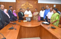 Maldives signs Memorandum of Understanding with India for cooperation and assistance in comprehensive cancer care between the two countries. PHOTO: MALDIVES CONSULATE IN TRIVANDRUM