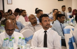 Participants of Dhivehi Insurance's 3rd Insurance Insights Seminar. PHOTO: DHIVEHI INSURANCE