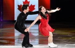 Two-time Olympic ice dance gold medallists Tessa Virtue and Scott Moir. PHOTO: BBC