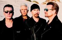 U2 will tour India in December for the first time. PHOTO: AFP