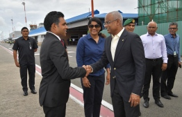 President Ibrahim Mohamed Solih departed on September 21 to attend the 74th Annual Session of the United Nations General Assembly (UNGA). PHOTO: PRESIDENT'S OFFICE