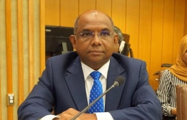 Foreign Minister Abdulla Shahid attends the high-level ministerial meeting of the Non-Aligned Movement (NAM) in New York. PHOTO/FOREIGN MINISTRY