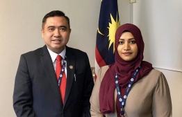 Transport Minister Aishath Nahula met with her Malaysian counterpart to discuss lifting Malaysia's ban on foreign driving licenses from Maldives. PHOTO/TRANSPORT MINISTRY