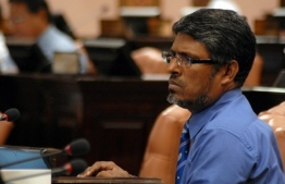 Former MP and religious scholar Dr Afrasheem Ali who was discovered stabbed to death in the stairwell of his home in the early hours of October 1, 2012. PHOTO: PARLIAMENT