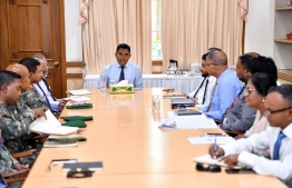 VP meets government stakeholders over fire safety standards. PHOTO: PRESIDENT'S OFFICE