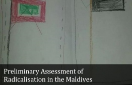 Cover page of Maldivian Democracy Network (MDN)'s Preliminary Assesment of Radicalisation in the Maldives. PHOTO: MALDIVIAN DEMOCRACY NETWORK