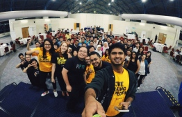 "Taken at the ''Lean Startup Machine"" in Kuala Lumpur 2015. PHOTO: DHANISH"