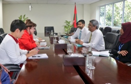 A delegation of the United Nations' Counter-Terrorism Committee Executive Directorate (CTED) on Tuesday met with Minister of State for Foreign Affairs Ahmed Khaleel. PHOTO: MINISTRY OF FOREIGN AFFAIRS
