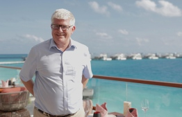 John Rogers, General Manager at LUX* North Male' Atoll. PHOTO: HAWWA AMAANY ABDULLA