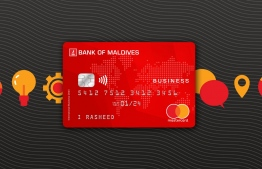 Bank of Maldives introduced the nation's first Business Debit Card. PHOTO: BANK OF MALDIVES