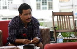 In this photo taken on October 16, 2019, Nepali mountaineer Nirmal Purja takes part in an interview with AFP in Kathmandu. - For pioneering Nepali mountaineer Nirmal Purja, who is on track to finish climbing the world's 14 highest mountains in a record seven months, reaching the summit of the last peak is just part of a broader quest. (Photo by PRAKASH MATHEMA / AFP) /
