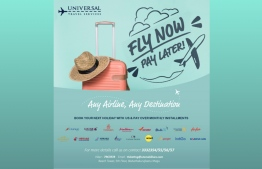 'Fly Now Pay Later' scheme launched by Universal Travels. IMAGE/UTS