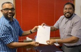 Former Progressive Party of Maldives (PPM) spokesperson was appointed Jumhooree Party's Secretary General. PHOTO: MIHAARU FILES