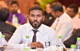 Chief Magistrate of Kaafu Judicial Constituency Mohamed Raghib attending the Judges Symposium held at Bandos Island Resort on September 14. PHOTO: NISHAN ALI/ MIHAARU
