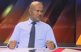 Fuad Zahir, the former head of Maldives Trade Union.