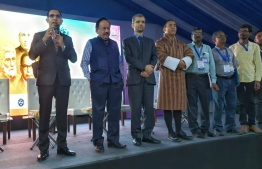 Minister of Communication, Science and Technology Mohamed Maleeh Jamaal attended the India International Science Festival (IISF) 2019. PHOTO: MINISTRY OF COMMUNICATIONS, SCIENCE AND TECHNOLOGY