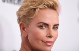 US/South African actress Charlize Theron arrives for the 33rd Annual American Cinematheque Awards Gala at the Beverly Hilton hotel in Beverly Hills on November 8, 2019. (Photo by VALERIE MACON / AFP)