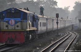 Train collision in Bangladesh. PHOTO: GOOGLE IMAGES