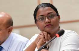 Anti-Corruption Commission (ACC) President Mariyam Shiuna. PHOTO: NISHAN ALI/ MIHAARU