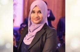 Protocol Division Director of Supreme Court Aathika Ibrahim. PHOTO: MIHAARU FILES