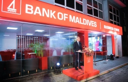 Bank of Maldives opened their first Business Centre in the capital city. PHOTO: BANK OF MALDIVES