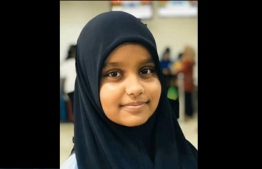 Fathimath Anjun Shafeeq, 13, was killed in an accident in Hulhumale' on November 12, 2019.