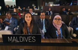 Minister of Education Aishath Ali (L) is slated to address the conference during the General Policy Debate on Friday. PHOTO: MINISTRY OF EDUCATION / TWITTER