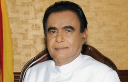 The veteran politician was the 14th Prime Minister of Sri Lanka from 2010 to 2015.  PHOTO: SOCIAL MEDIA