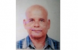 Mohamed Saeed, aged 72. PHOTO: MADAVELI COUNCIL