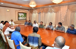 President meets Taxi Drivers Association. PHOTO: PRESIDENT'S OFFICE