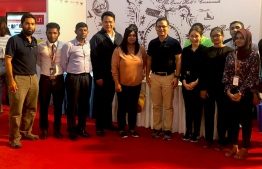 Management from Crossroads, Singha Estate Developer pose with organizers of Fannu Expo. PHOTO: MARCOMMS
