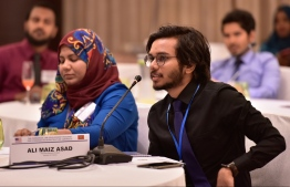 Participants of CLDP's workshop speaking at the event. PHOTO: NISHAN ALI/ MIHAARU