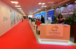 MMPRC's stand at the International Luxury Travel Market 2019 in Cannes, France. PHOTO/MMPRC