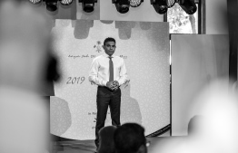 Vice President Faisal Naseem inaugurated the 'Riveli Exhibition' organised for people with disabilities. PHOTO: PRESIDENT'S OFFICE