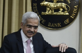 EDITORS NOTE:  / Reserve Bank of India (RBI) governor Shaktikanta Das arrives for a press conference at the central bank's headquarters in Mumbai on December 5, 2019. (Photo by Punit PARANJPE / AFP)